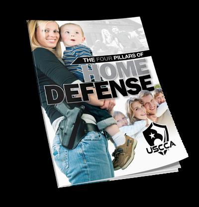 USCCA 4 Pillars of Home Defense