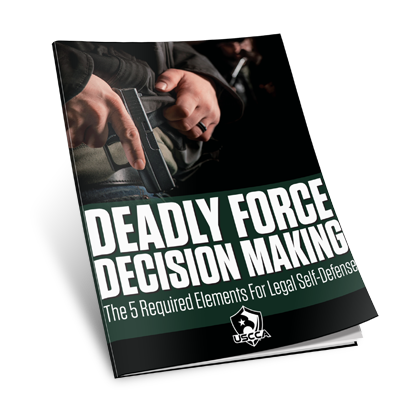 USCCA Deadly Force Decision Making