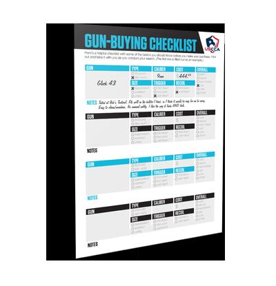 USCCA Gun Buying Checklist Plus Notes