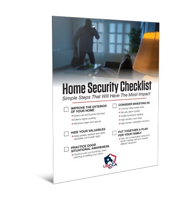 USCCA Home Security Checklist