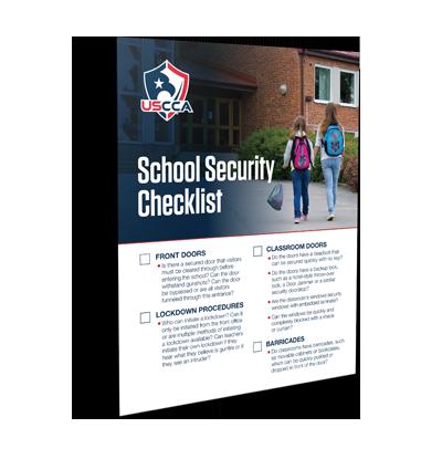USCCA School Security Checklist
