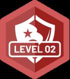 Level 02 Badge