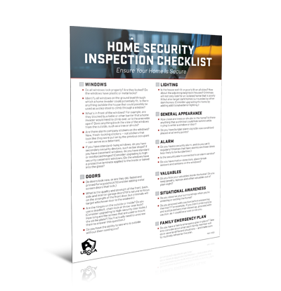 USCCA Home Security Inspection Checklist